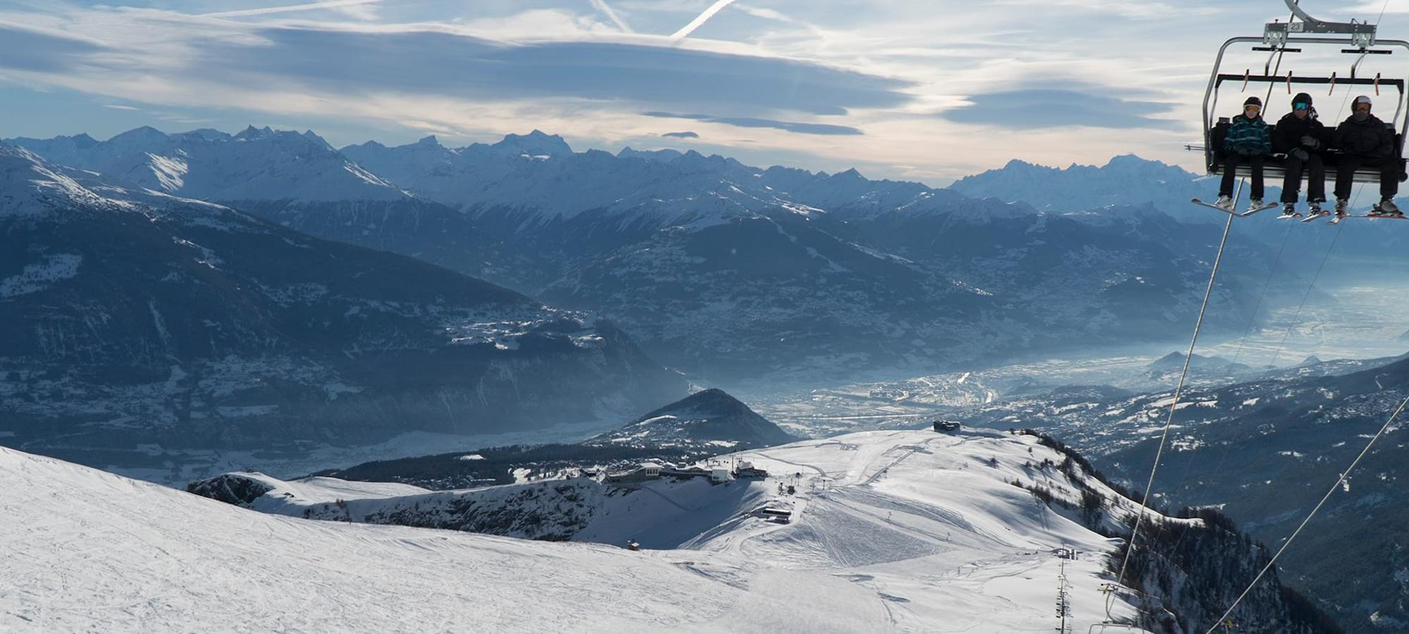 Photo Webshop Crans-Montana Location Skis
